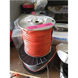 Two 1000 Foot Rolls of Wire