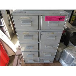 10 Drawer Metal Index File