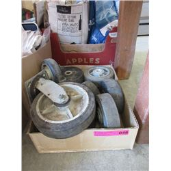 Box of Hard-tire Wheels