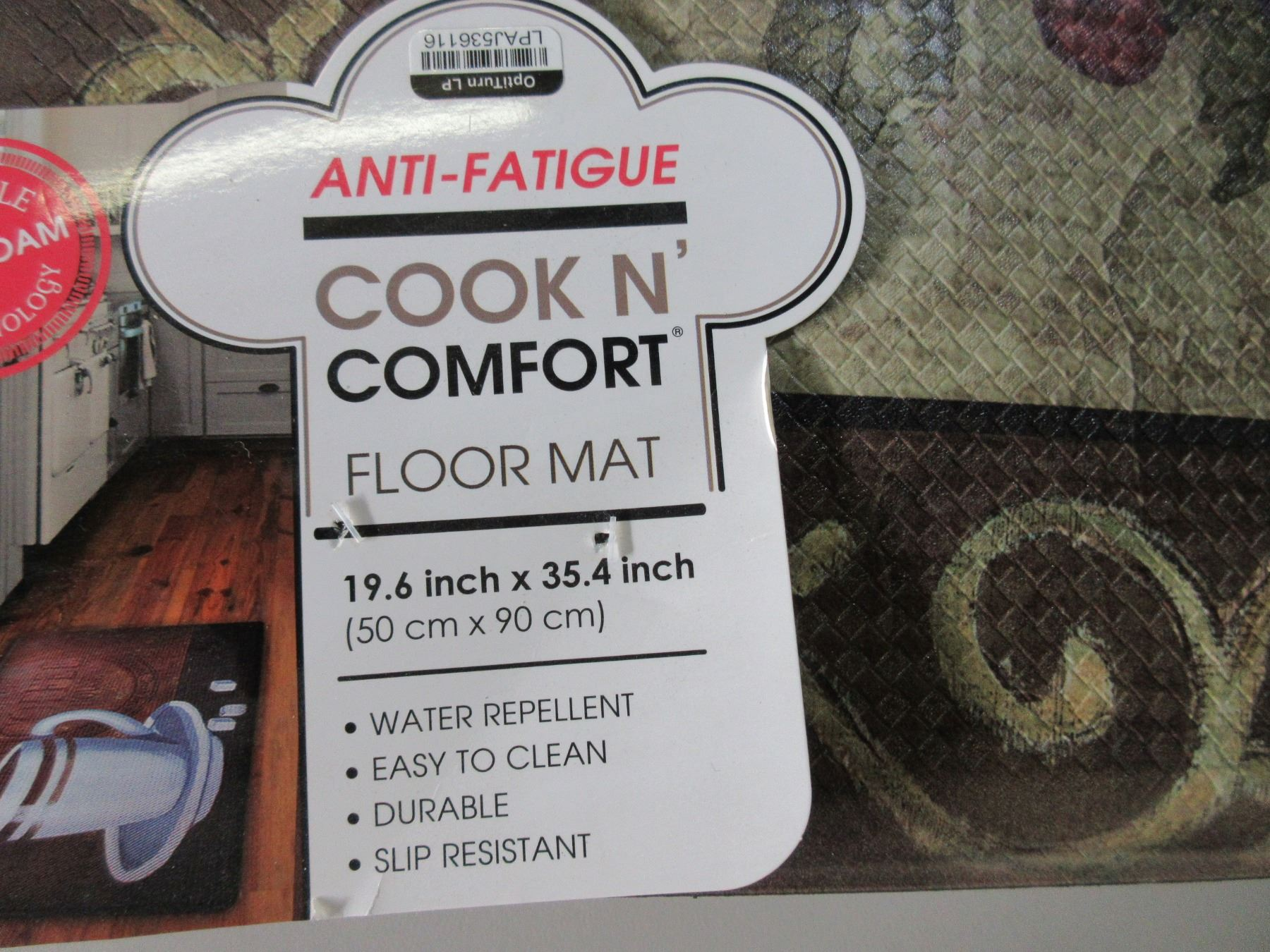 New Anti Fatigue Mat Cook In Comfort 19 6 X 35 4 Inch Easy To Clean