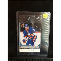 JOSH Ho-SANG 2017-18 OVERSIZED UD YOUNG GUNS SERIES 1