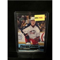 ZACH WERENSKI 2016-17 UD YOUNG GUNS SERIES 1