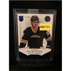 DOUGIE HAMILTON 2013-14 PANINI AUTHENTIC MATERIALS 20/99