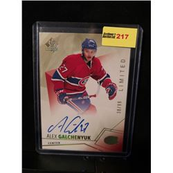 ALEX GALCHENYUK 2015-16 SP LIMITED AUTOGRAPH