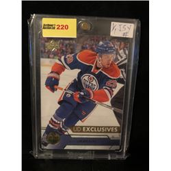 LEON DRAISAITL 2016-17 UD EXCLUSIVES 029/100 SERIES 1