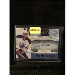 DARNELL NURSE 2014-15 UD ICE PREMIERES AUTOGRAPH