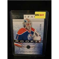 LAURENT BROISSOIT 2014-15 ARTIFACTS ROOKIE 145/999