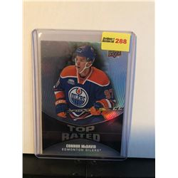CONNOR McDAVID 2016-17 UD OVERTIME TOP RATED