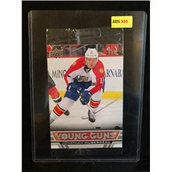 JONATHAN HUBERDEAU 2013-14 OVERSIZED UD YOUNG GUNS SERIES 1