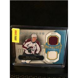 PAUL STASTNY 2013-14 ARTIFACTS TREASURED SWATCHES