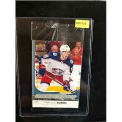PIERRE-LUC DUBOIS 2017-18 OVERSIZED UD YOUNG GUNS SERIES 1