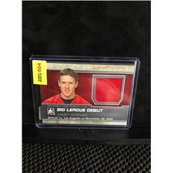 JIMMY HOWARD 2013 ITG BETWEEN THE PIPES-BIG LEAGUE DEBUT SILVER VERSION