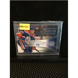 LEON DRAISAITL 2015-16 UD CONTOURS YOUTH MOVEMENT AUTOGRAPH 225/399
