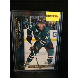 LOGAN COUTURE 2015-16 UD EXCLUSIVES 046/100 SERIES 1