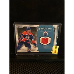 NAIL YAKUPOV 2015-16 FROZEN ARTIFACTS GAME WORN JERSEY
