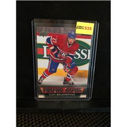 ALEX GALCHENYUK 2013-14 UD YOUNG GUNS SERIES 1