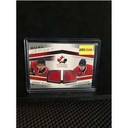 KERBY RYCHEL/FREDERIK GAUTHIER 2014 UD TEAM CANADA JUNIORS DUAL JERSEY