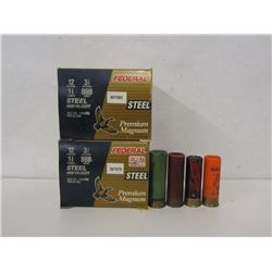 12GA AMMO AND ONE 10GA SHELL