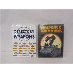 TWO BOOKS ON WEAPONS OF THE WORLD