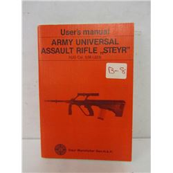 STEYR ASSAULT RIFLE USER'S MANUAL