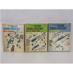 GUN DIGEST BOOKS OF FIREARMS ASSEMBLY/DISASSEMBLY