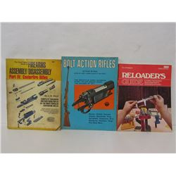 BOOKS ON RELOADING AND GUN ASSEMBLY