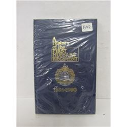 A HISTORY OF THE FIRST HUSSARS REGIMENT