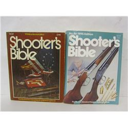 TWO VOLUMES OF THE SHOOTER'S BIBLE