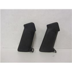 TWO PISTOL GRIPS FOR SQUIRES & BRINGHAM M16 22