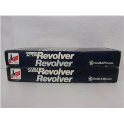 TWO SMITH & WESSON REVOLVER BOXES
