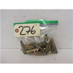 24 PIECES OF 243 WIN BRASS
