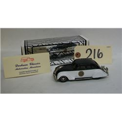 Durham Classics California Highway Patrol Die Cast
