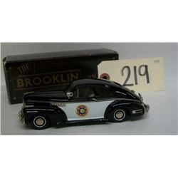 Brooklin Collectibles 1948 Chevy California Police