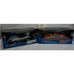 Auto Art: James Bond Collection Die Cast Cars (2)