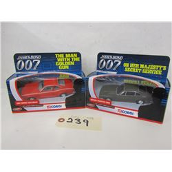 Corgi The Ultimate Bond Diecast  (4pcs)