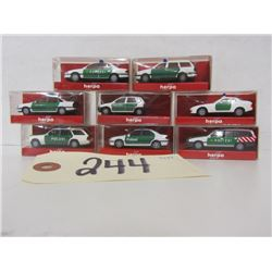 Herpa Die Cast Police Vehicles (8)