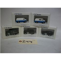 E-R Models Die Cast Trident Vehicles (5)