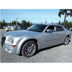 B3---2010 CHRYSLER 300, SEDAN, GREY, 153683 KM'S