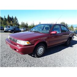 A8 -- 1992 Toyota Corolla, Red,  323724 Kilometers
