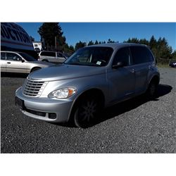 G6---2007 CHRYSLER PT CRUISER SEDAN, GREY, 144,131 KMS
