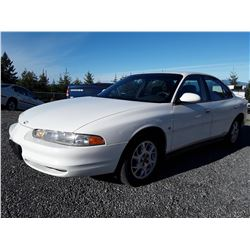 L2 -- 2001 OLDSMOBILE INTRIGUE SEDAN, WHITE, 143,605 KMS