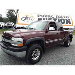 F3 -- 2002 CHEV 2500 HD EXT CAB 4X4