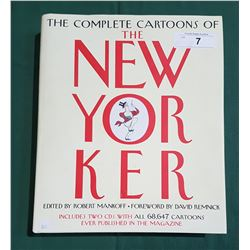 THE COMPLETE CARTOONS OF THE NEW YORKER HARDCOVER BOOK