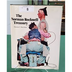 THE NORMAN ROCKWELL TREASURY HARDCOVER BOOK
