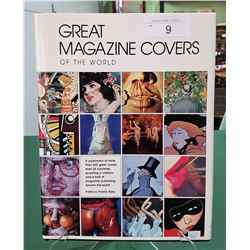 GREAT MAGAZINE COVERS OF THE WORLD HARD COVER BOOK