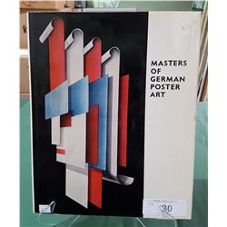 MASTERS OF GERMAN POSTER ART HARDCOVER BOOK