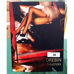BEAUTIFUL DISASTERS BY DAVID DREBEN HARDCOVER BOOK