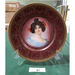 VICTORIAN PICTURE PLATE