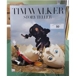 STORY TELLER BY TIM WALKER HARDCOVER BOOK