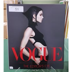 "VOGUE ""THE EDITOR EYE HARDCOVER BOOK"""